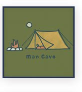 Men's Man Cave Graphic Tee