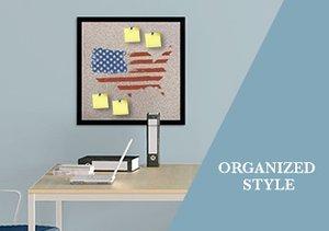 Wall Décor: Organized Style