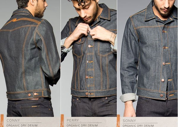 Nudie Jeans Denim Jackets Conny Perry Sonny