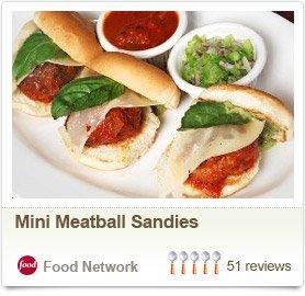 Mini Meatball Sandies