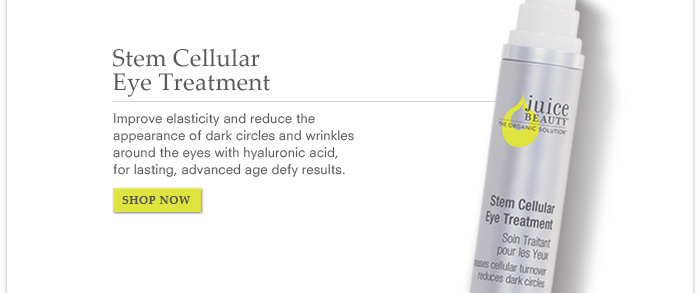Stem Cellular Eye Treatment