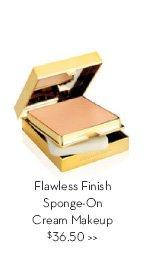 Flawless Finish Sponge-On Cream Makeup $36.50.