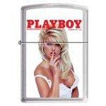 Zippo 1211 Classic Brushed Chrome Playboy Cover November 1994 Windproof Pocket Lighter