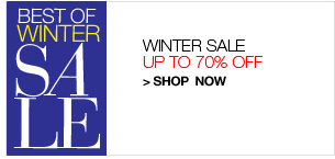 Shop Winter Sale, Up to 70% Off