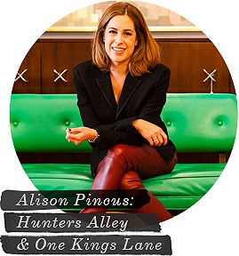 Alison Pincus and Hunters Alley