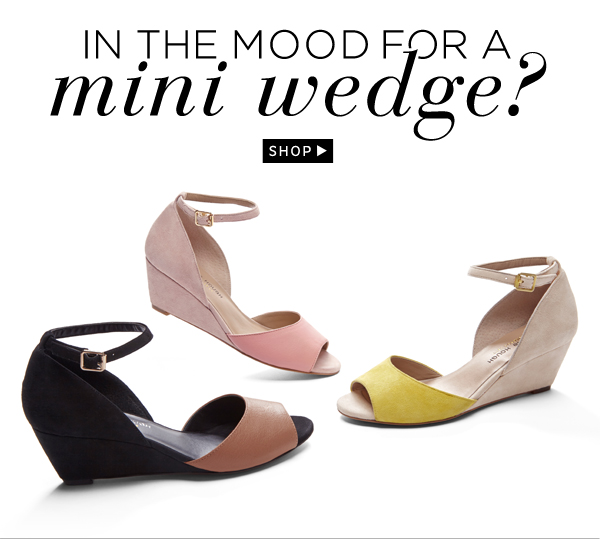 In the Mood for a Mini Wedges: Shop Lacey
