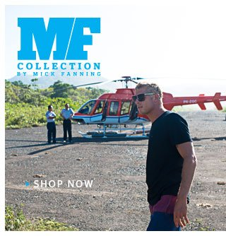 MF Collection by Mick Fanning - Shop Now