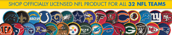 SHOP OFFICIALLY LICENSED NFL PRODUCT FOR ALL 32 NFL TEAMS