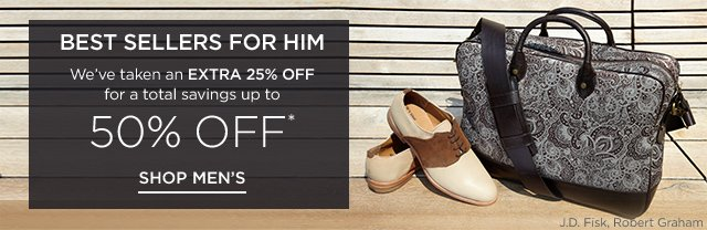 Up to 50% off Best Sellers for him