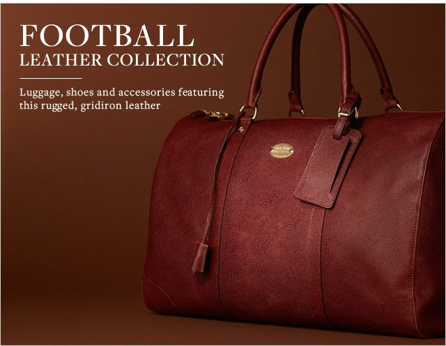 FOOTBALL LEATHER COLLECTION