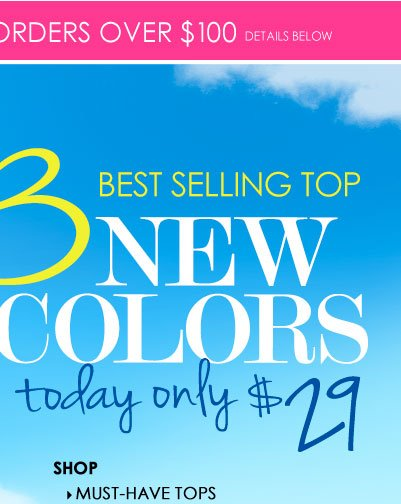 We Can't Keep This a Secret! Our BEST SELLING TOP in 3 NEW Colors! SHOP Must-Have Tops!