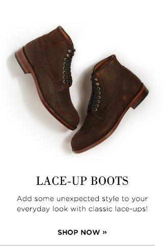 Shop Lace-up Boots