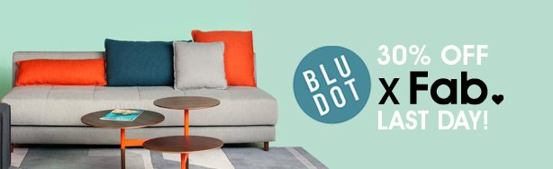 Blu Dot @ 30% Off. Last Day To Save!