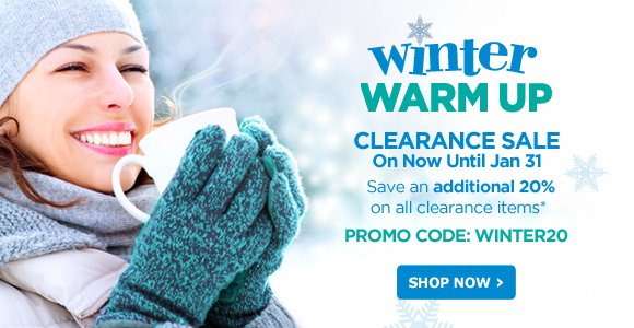 Winter Warm Up Clearance Sale