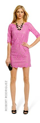 ROBERT RODRIGUEZ COLLECTION - Peony Lace Shift