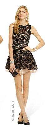 NHA KHANH - Noir Timeless Love Dress
