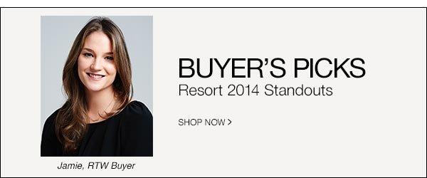 Resort 2014 Standouts >>