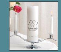 Personalized Premier Design Unity Candle Set
