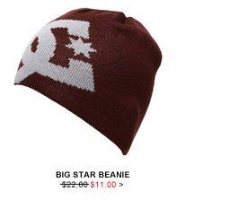Big Star Beanie $11.00