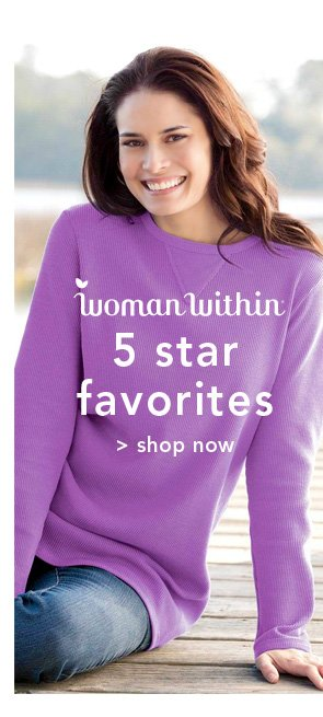 Shop Woman Within 5 star favorites
