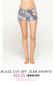 Blaze Cut Off Jean Shorts $22.25 - Shop Now