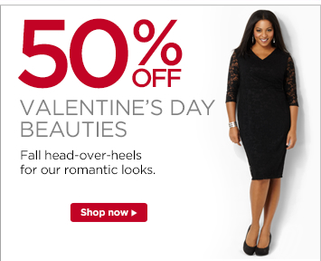 50% Valentine's Day Beauties