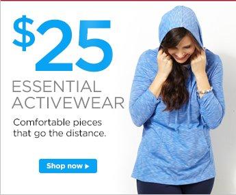 $25 Essential Activewear