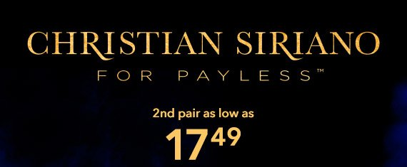 Shop our newest styles from designer Christian Siriano and save during BOGO!