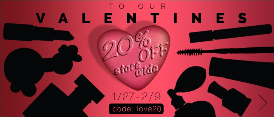 20% Off Store Wide - Use Code LOVE20