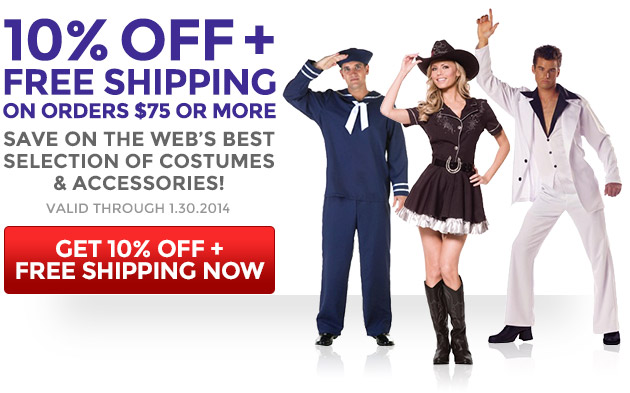 10% Off + Free Shipping on Orders $75 or More