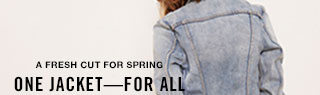 A fresh cut for spring - one jacket - for all