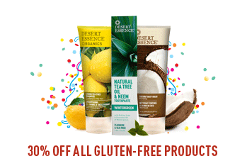 30% OFF ALL Gluten-Free Products