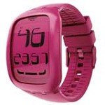 Swatch SURP100 Unisex Touch Pink Digital Dial Rubber Strap Chronograph Alarm Watch