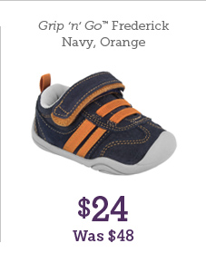 Grip 'n' Go Frederick Navy, Orange $24 Was $48