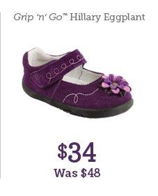 Grip 'n' Go Hillary Eggplant $34 Was $48