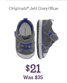 Originals Jett Grey/Blue $21 Was $35