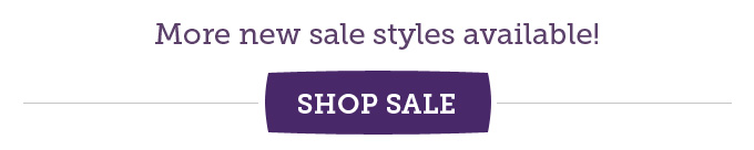 More new sale styles available