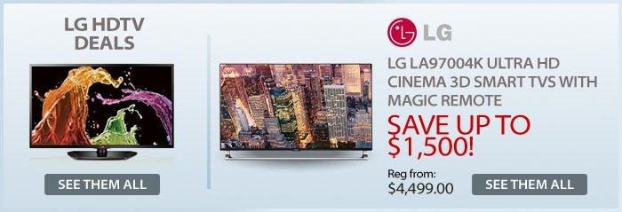 Adorama - LG TVs