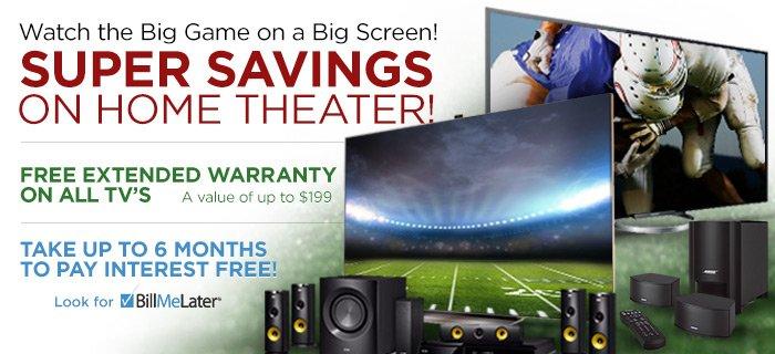 Big Game Super Savings!