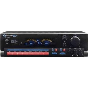 Adorama - Technical Pro RX503 Receiver with Digital Spectrum, 110/220 Volts Switchable