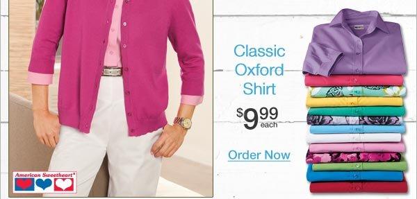 Shop Classic Oxford Shirt