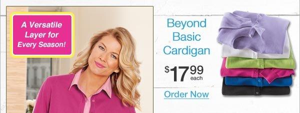 Shop Beyond Basic Cardigan