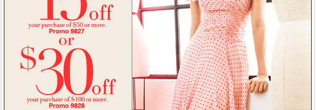 Save Up to $30 on the New Eva Mendes Collection!