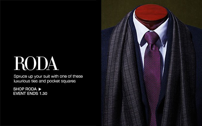 Shop Roda Pocket Squares & Ties for Men