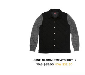 June Gloom Sweatshirt $32.50- Shop Now
