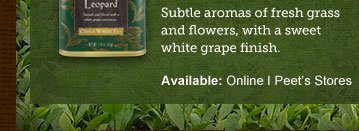 Subtle aromas of fresh grass and flowers, with a sweet white grape finish.