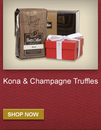 Kona & Champagne Truffles -- SHOP NOW