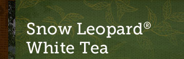 Snow Leopard® White Tea