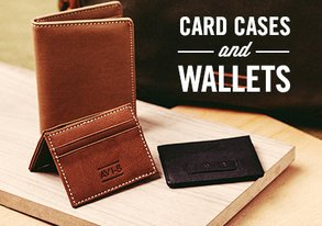 Shop Leather We Love: Wallets & More