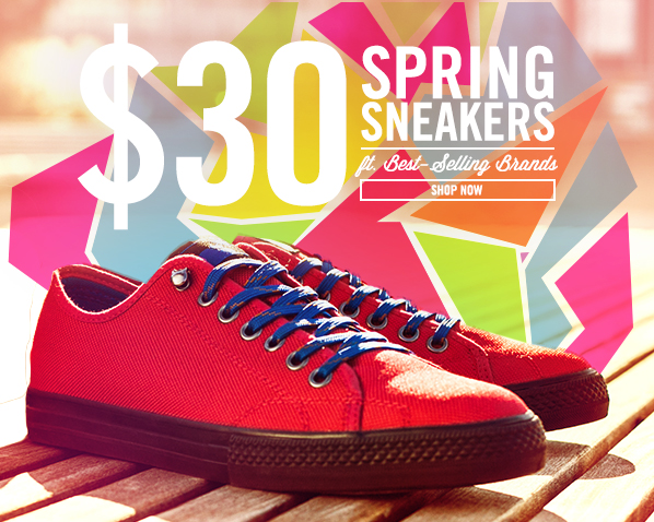 Shop $30 Sneakers ft. Best-Selling Brands